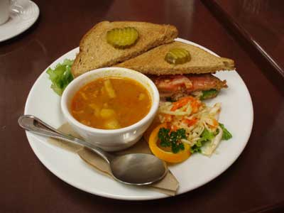 Clubhouse Sandwich & Special Soup