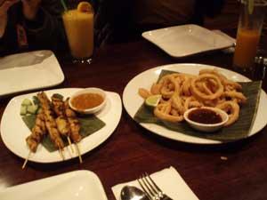 Satay and Calamari