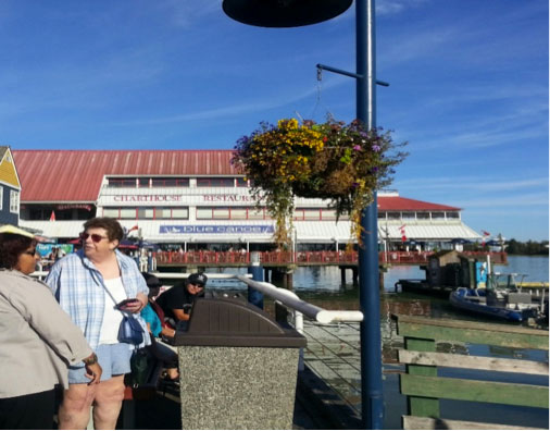 Blue Canoe Waterfront Restaurant
